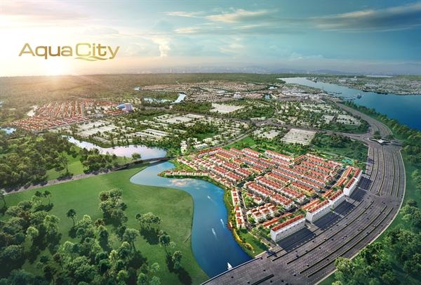 Tọa lạc tại vị trí cửa ngõ khu đô thị sinh thái thông minh Aqua City quy mô gần 1.000 ha ngay phía Đông TP.HCM, phân khu River Park 1 có giá trị thương mại cao.