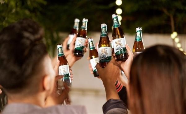 Đầu năm 2020, ngành bia rượu bị kẹp giữa 2 gọng kìm lớn là Nghị định 100 và COVID-19. Ảnh minh họa: SAB.