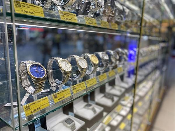 Thế Giới Di Động chủ yếu bán đồng hồ giá dưới 6 triệu đồng.
