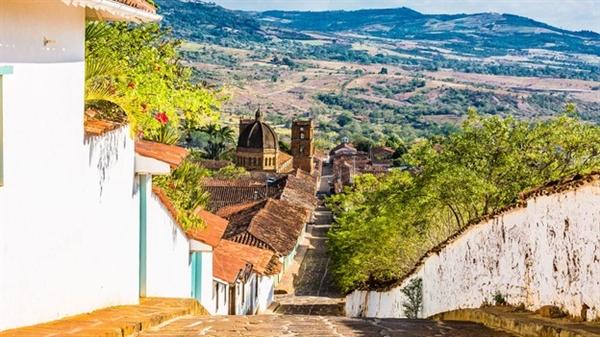 Thuộc địa Barichara - một trong những thị trấn hấp dẫn nhất của Colombia. Hàng năm vào dịp La Salida, cư dân ở đây tập trung săn kiến. Nguồn ảnh: BBC.