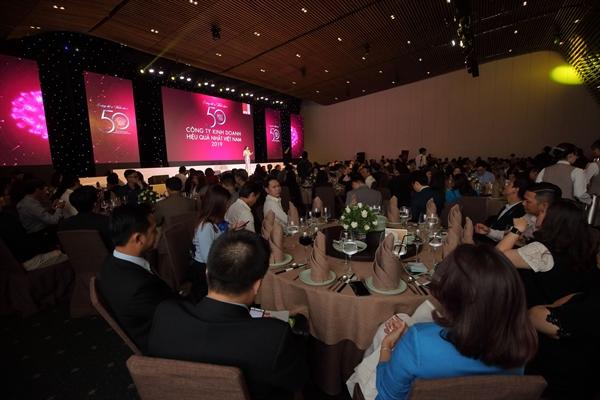 Hơn 300 doanh nghiệp tham dự sự kiện Top 50 năm 2020.