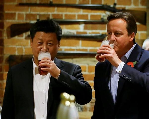 Trung Quốc sẵn sàng cho thỏa thuận thương mại với Anh. Nguồn ảnh: First Post.