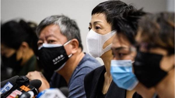 Nhiều người phản đối luật an ninh quốc gia gây tranh cãi ở Hồng Kông, Trung Quốc. Nguồn ảnh: BBC.