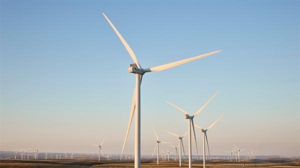 Trang trại gió Montague ở Oregon là một trong những dự án lớn nhất của Apple cung cấp năng lượng cho trung tâm dữ liệu của Apple Prineville. Nguồn ảnh: Apple.