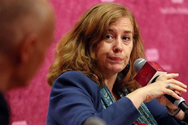 """Bà Alicia Garcia Herrero cho rằng: """"Đối với nhà đầu tư nước ngoài, các lĩnh vực như các khoản nợ, tư vấn và quản lý tài sản mang đến một cơ hội lớn hơn ngân hàng truyền thống"""". Nguồn ảnh: SCMP."""