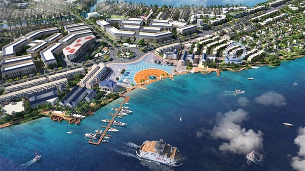 Aqua City dành 70% diện tích cho mảng xanh, hạ tầng giao thông và tiện ích nội khu đẳng cấp