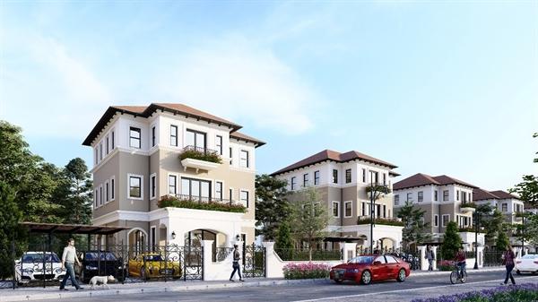 Nhà phố, biệt thự tại các khu đô thị được quy hoạch bài bản ngày càng được ưa chuộng
