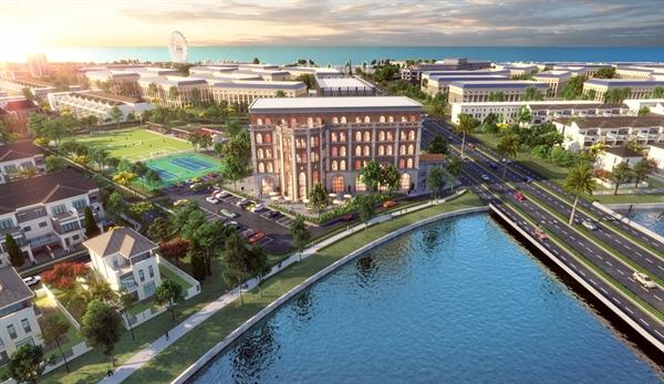 Không gian sống xanh với chuỗi tiện ích đẳng cấp, được quy hoạch bài bản, đáp ứng tất cả mọi nhu cầu an cư tại Aqua City.