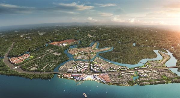Khu đô thị sinh thái thông minh Aqua City quy mô gần 1.000ha nằm tại phía Đông TP.HCM luôn giữ được sức nóng ngay cả trong thời điểm dịch Covid-19.
