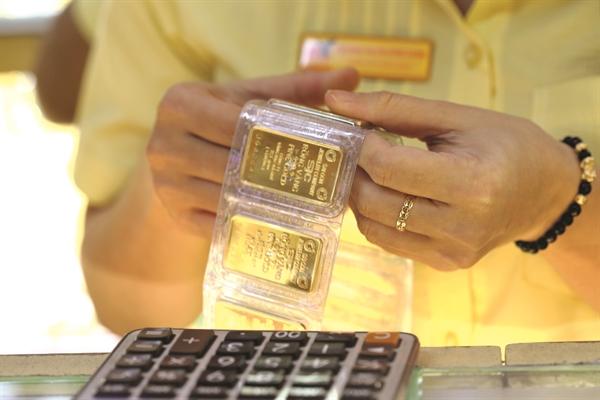 Giá vàng tại Việt Nam tăng dựng đứng trong thời gian qua. Ảnh: Quý Hòa