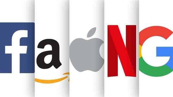 Trong tài chính, cổ phiếu FAANG là cổ phiếu của 5 công ty công nghệ nổi tiếng của Mỹ: Facebook, Amazon, Apple, Netflix và Alphabet (trước đây gọi là Google). Nguồn ảnh: Forbes.