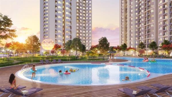 Với diện tích mảng xanh và mặt nước đa dạng, 5 tòa căn hộ cuối cùng của The Origami Sun có vị trị đẹp nhất, xanh nhất và tầm nhìn đẹp nhất, được đánh giá là hấp dẫn nhất thị trường thời điểm hiện tại.
