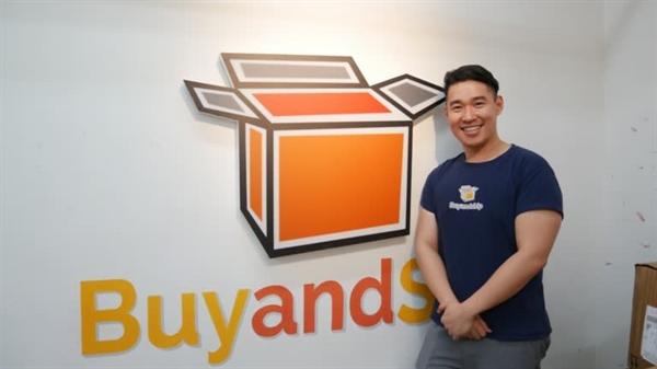 Giám đốc điều hành Wilson Chan của dịch vụ trung chuyển Buyandship cho biết: doanh nghiệp của ông đã tăng trưởng gấp 3 lần trong quý I năm 2020. Nguồn ảnh: Michelle Chan.