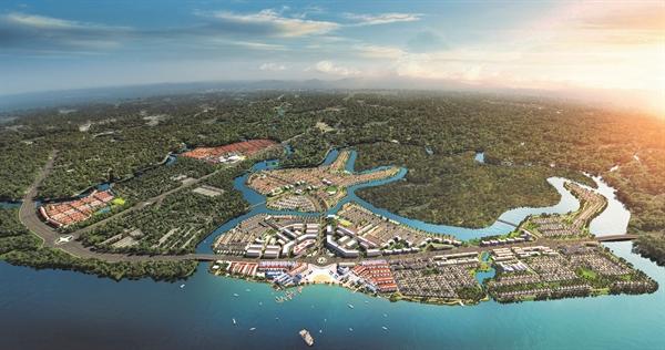 Khu đô thị sinh thái thông minh Aqua City quy mô gần 1.000 ha được tích hợp đầy đủ các tiện ích đẳng cấp đáp ứng tất cả nhu cầu an cư của cư dân ngay tại phía Đông TP.HCM.