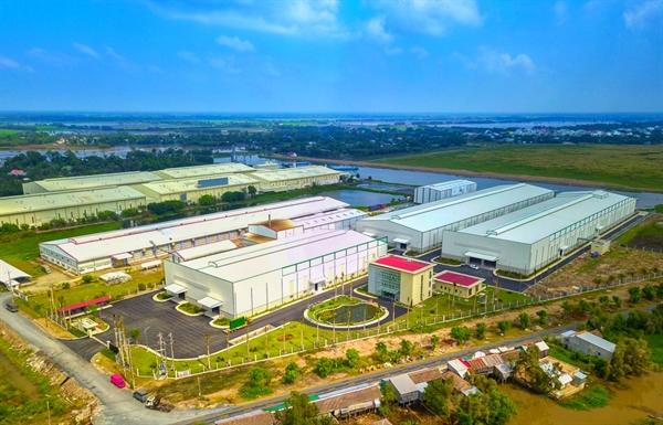 Trung tâm chế biến nông sản vốn đầu tư 350 tỷ đồng của Vinaseed tại Đồng Tháp. Nguồn ảnh: PAN Group.