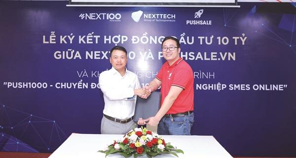 NextTech Group đầu tư vào Pushsale.vn.