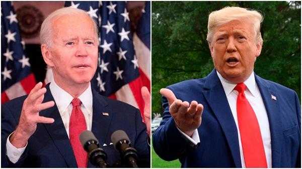 Ông Trump hay ông Biden, dù ai thắng cử vào tháng 11 thì cũng là một cú đấm mạnh vào các nhà nhập khẩu dầu châu Á. Nguồn ảnh: AFP.