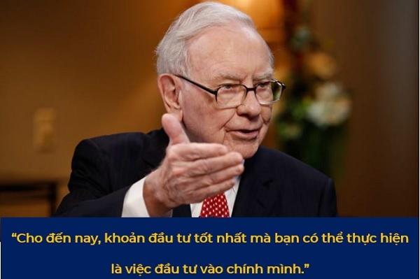 Lời khuyên của tỉ phú Warren Buffett. Ảnh: VH, CNBC.