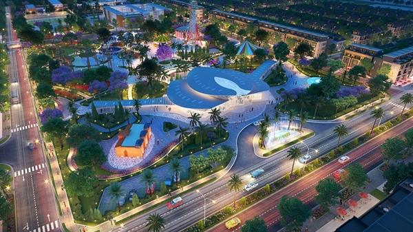 Công viên trung tâm Gem Sky Park sẽ là điểm thu hút cư dân Gem Sky World và cả khu vực lân cận đến vui chơi, giải trí.