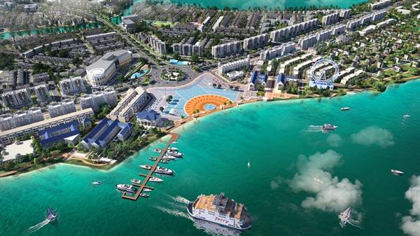 Đô thị sinh thái thông minh Aqua City với quy mô gần 1.000 ha cùng chuỗi tiện ích đẳng cấp, hoàn chỉnh.