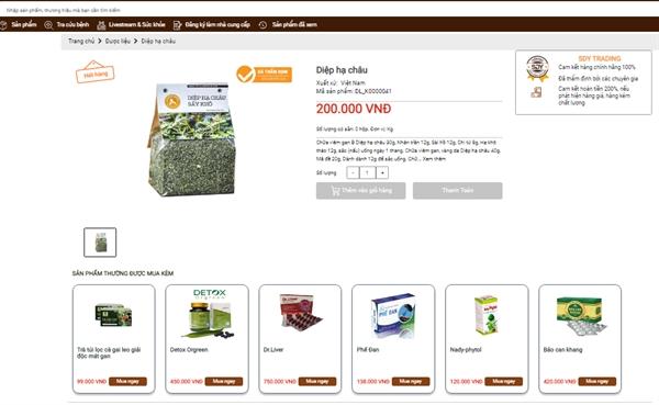 Các sản phẩm chào bán trên sandongy.com.vn đều có nguồn gốc, được kiểm định chất lượng.