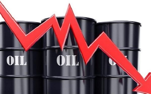 Gía dầu giảm, mất 8% vào sáng nay. Ảnh:dangcongsan