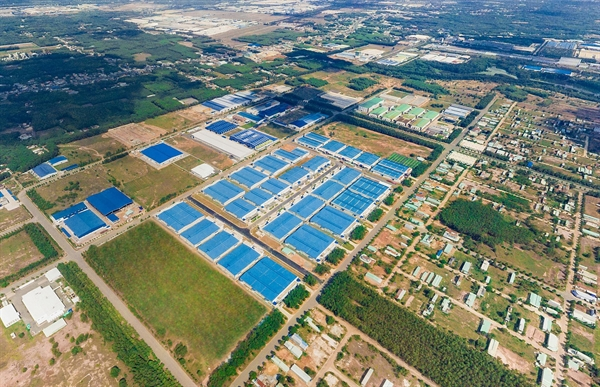 An overview of Ready-built-factories by BW at My Phuoc 3 Industrial Park. Photo: BW Industrial Development