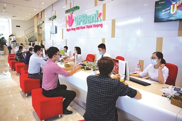 VPBank đẩy mạnh cho vay tiêu dùng.