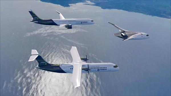 Nguyên mẫu của máy bay chạy bằng khí hydro không phát thải. Nguồn ảnh: AFP