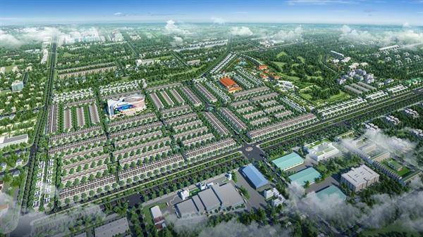 Phối cảnh Khu đô thị phức hợp – cảnh quan Cát Tường Phú Hưng tại TP.Đồng Xoài