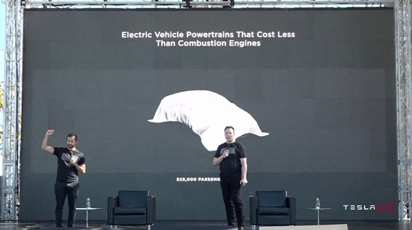 Hôm 22.9, Tesla vừa tổ chức sự kiện Ngày pin để thảo luận về nhiều cải tiến mà hãng đã phát triển và đang theo đuổi trong công nghệ pin cho xe. Nguồn ảnh: Tech Crunch.