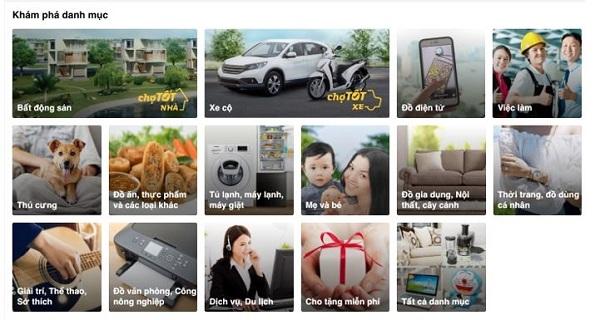 Chợ Tốt - nền tảng mua bán trực tuyến ở Việt Nam trực thuộc tập đoàn Carousell Ảnh: