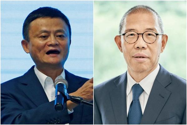 Tỉ phú Jack Ma và tỉ phú vừa đổi vị trí cho nhau trong bảng xếp hạng Tỉ phú Trung Quốc Zhong Shanshan. Ảnh: Reuters