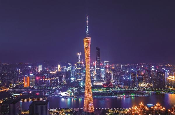 Quảng Châu là trung tâm xuất khẩu lớn của Trung Quốc.