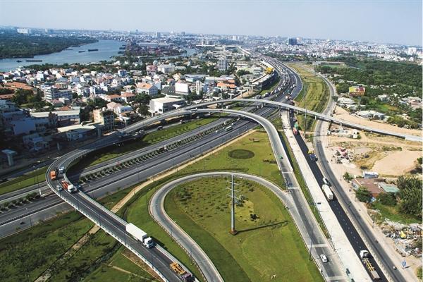 Nút giao thông kết nối quận 2 và Thủ Đức. Ảnh: Lê Toàn
