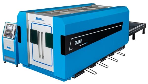 Máy cắt laser của tập đoàn Tailift.