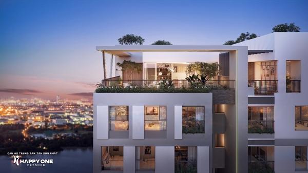 Góc nhìn từ căn penthouse của HAPPY ONE – Premier.