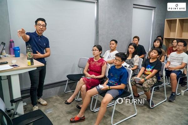Một không gian nội thất của D'Furni đáp ứng công năng môi trường học tập hiện đại trong các trường quốc tế.