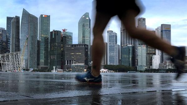 Singapore đã thành lập một quỹ phòng chống lũ lụt và bờ biển mới để giúp bảo vệ đất nước trước tình trạng mực nước biển dâng. Nguồn ảnh: AP.