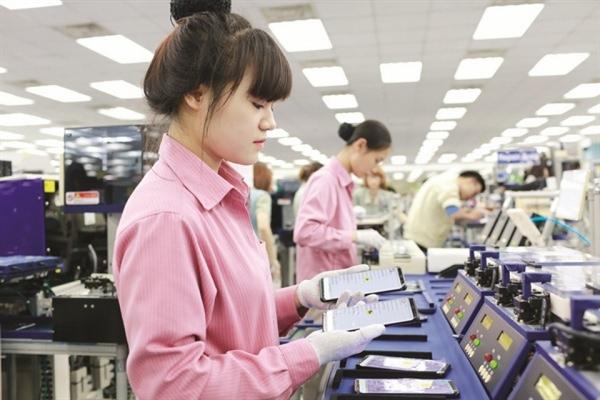 Điện thoại các loại và linh kiện là mặt hàng dẫn đầu kim ngạch xuất khẩu sang thị trường Hàn Quốc. Nguồn ảnh: Samsung.