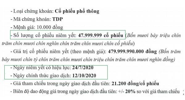 Nguồn: TDP.