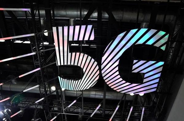 Biểu tượng 5G tại Hội chợ Thương mại Dịch vụ Quốc tế ở Bắc Kinh, Trung Quốc vào tháng 9. Nguồn ảnh: Reuters.