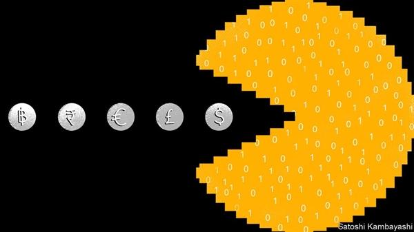 COVID-19 khiến nhiều người hơn bao giờ hết sử dụng ngân hàng và thanh toán trực tuyến. Nguồn ảnh: The Economist.