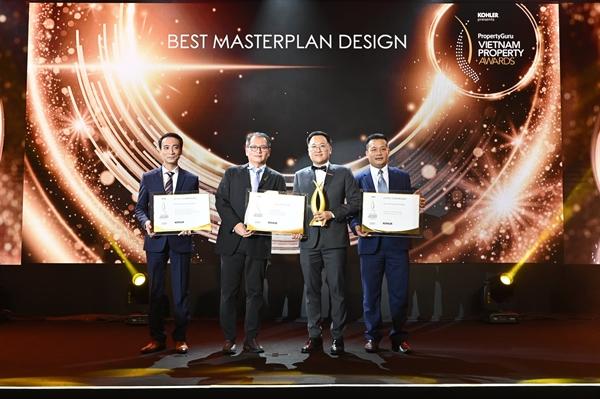 Celadon City đoạt ba giải thưởng quan trọng dành cho dự án.