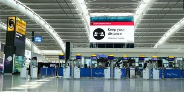 Dự báo của Hiệp hội Nhà hàng và Bán lẻ, các sân bay ở Mỹ sẽ mất 3,4 tỉ USD từ nay đến cuối năm 2021. Nguồn ảnh: Airport World.