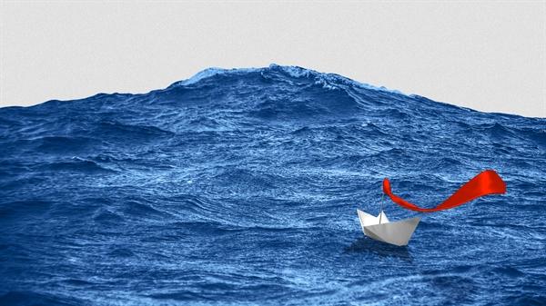 """""""Làn sóng xanh"""" đề cập đến kết quả bầu cử trong đó ông Joe Biden đánh bại đương kim Tổng thống Donald Trump trong cuộc đua vào Nhà Trắng. Nguồn ảnh: Axios."""