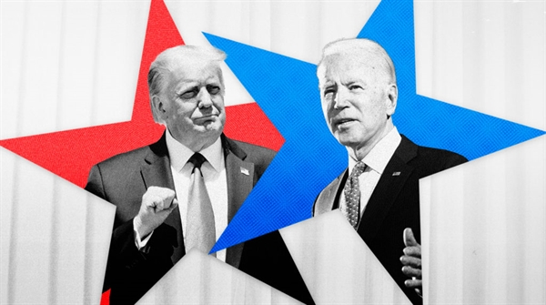Ảnh hưởng của cuộc bầu cử đối với giá vàng là một chủ đề tranh luận sôi nổi. Nguồn ảnh: NBC News.