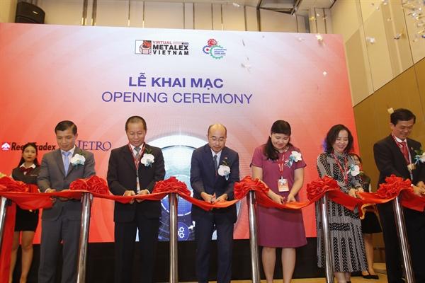 Chuỗi triển lãm trực tuyến hàng đầu dành cho ngành sản xuất, gia công cơ khí và công nghiệp hỗ trợ METALEX Vietnam – Triển lãm Công nghiệp Hỗ trợ 2020 đã chính thức khai mạc ngày hôm nay