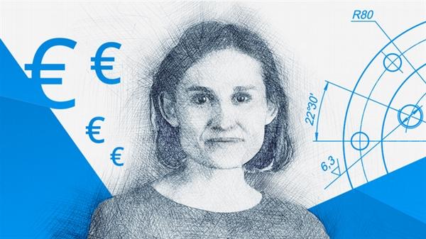 Các nhà nghiên cứu của ECB cho rằng: Họ sẽ cần phản ứng với lạm phát và sản lượng nhiều gấp đôi khi có các đồng tiền kỹ thuật số của ngân hàng trung ương. Nguồn ảnh: DW.