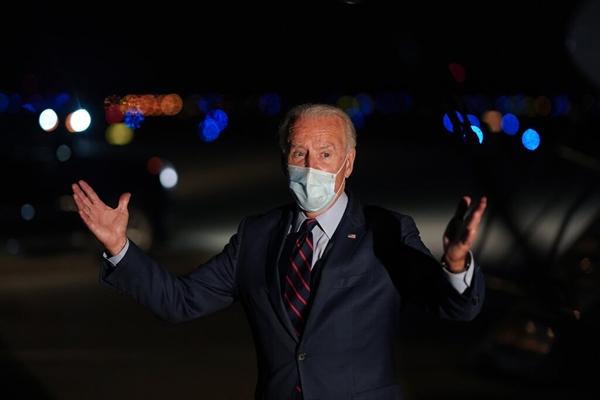 Tất nhiên, vẫn có tiềm năng về việc ông Biden thắng cử tổng thống nhưng đảng Cộng hòa vẫn giữ quyền kiểm soát Thượng viện. Ảnh: The New York Times.